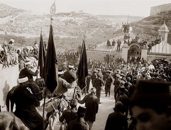 Nebi Musa-kravallerna i Jerusalem 1920 ledde till att fem judar och fyra palestinier dödades.