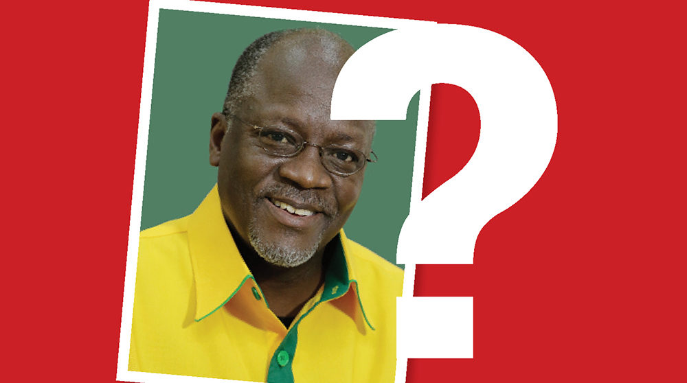 Magufuli and a question mark?