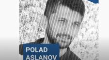 Den fängslade journalisten Polad Aslanov.