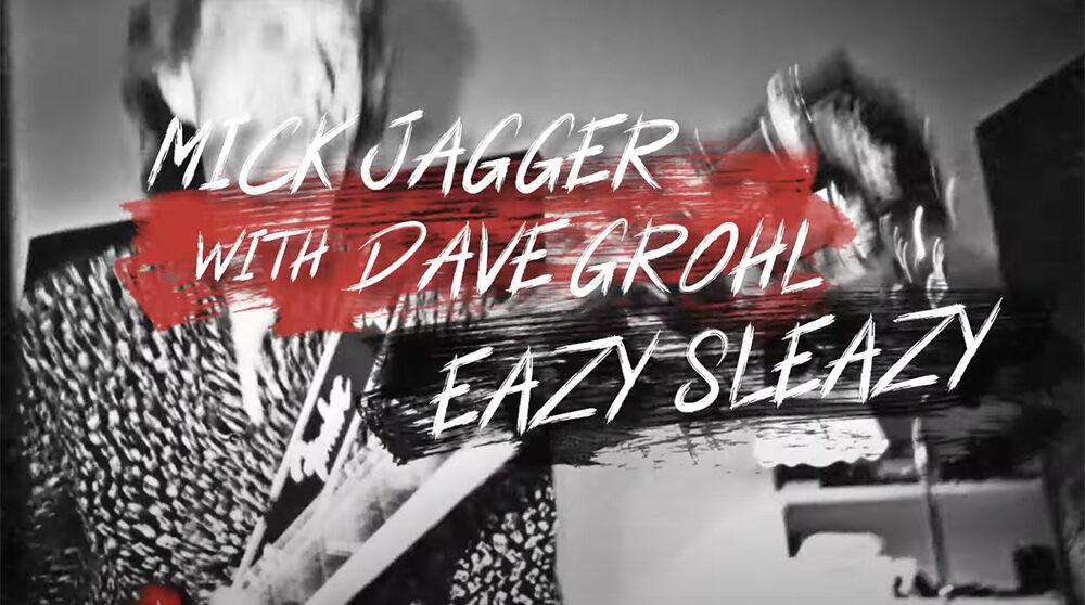 Jagger gör dig glad med nya Easy Sleazy! Stillbild från videon.