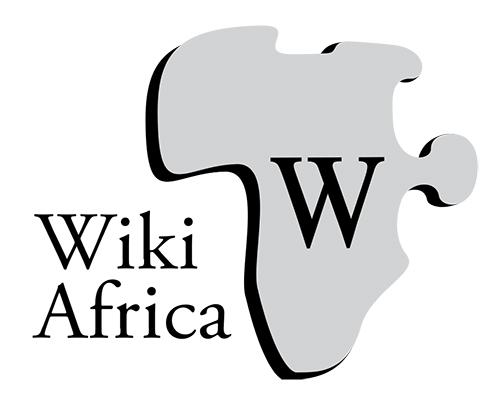 WikiAfricas Logga, Wikipedia i Afrika.