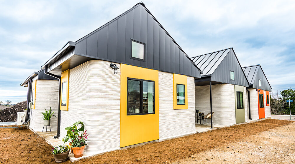 3D-printade hus börjar bli verklighet.