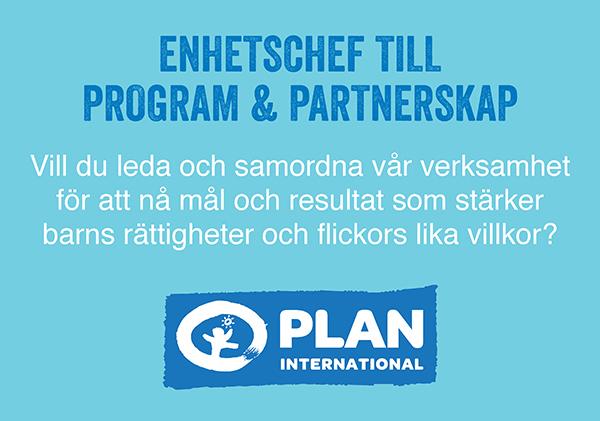 Platsannons Plan